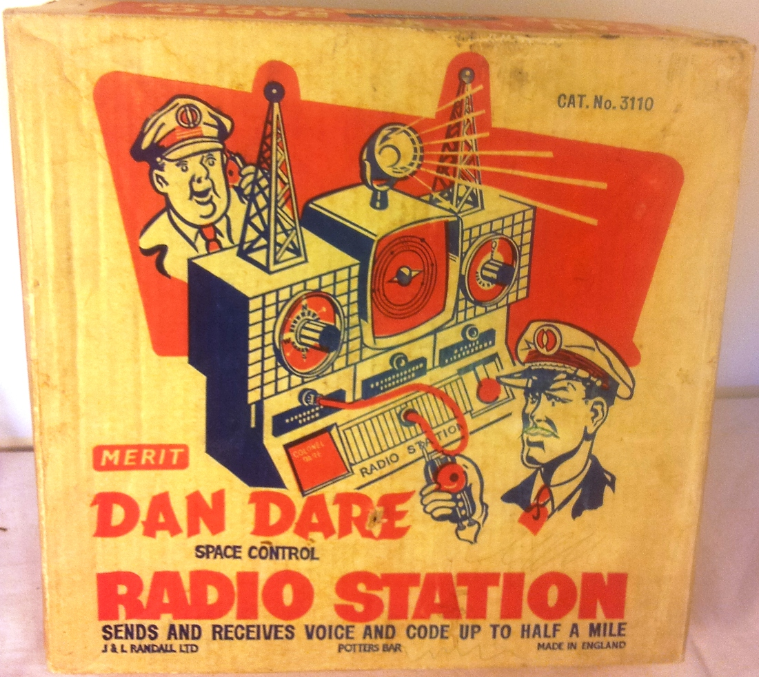 Radio 1950s Music Original 1950's Dan Dare Radio