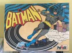 1980 Polistil Batman slot car set , complete