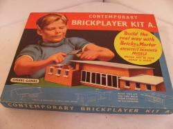 vintage spears brickplayer construction kit no. a ( complete)