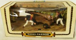 1969 britains naval cannon boxed set 9736