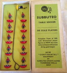rare subbuteo 1966 World Cup team Chile boxed