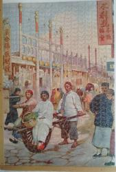 1930 lucilla wooden jigsaw marketing in china 466 pieces complete
