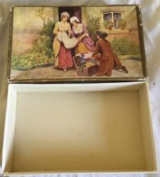 vintage clarnico decorative chocolate  box