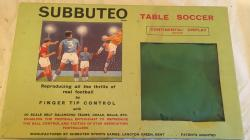 1960s subbuteo table soccer set complete.