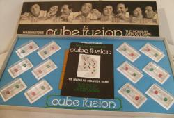 1970 waddingtons cube fusion modular strategy game ( complete)