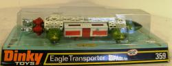 1975 dinky space 1999 eagle transporter 359 boxed