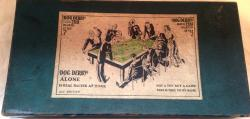 rare 1920s dog derby greyhound racing game.