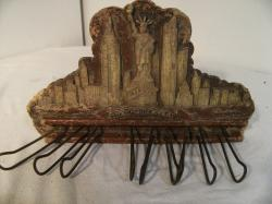 v. rare 1931 empire state building promo tie rack
