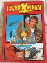 1981 the fall guy annual unclipped