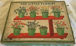 vintage the little florist set , appears complete