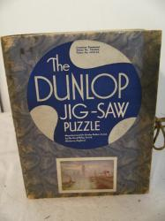 vintage chad valley dunlop 200 piece wooden jigsaw westminster (complete)