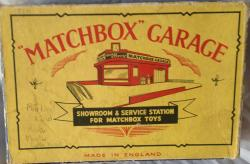 1950s matchbox lesney service station garage boxed