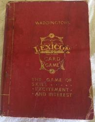 1934 twin pack lexicon card game