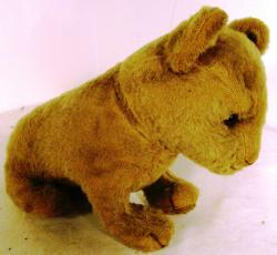 c1920's mohair lion cub possibly steiff