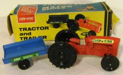 1960's lone star die cast tractor & trailer boxed