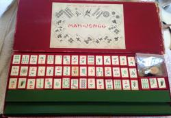 1930s chad valley mah jongg boxed set