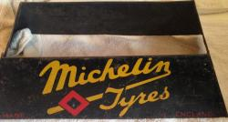 rare michelin tyres advertising tyre  stand