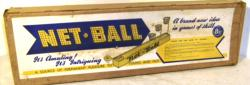 1950's pressed tin netball game ( boxed)