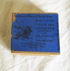 early Britains spotting chair and observer boxed