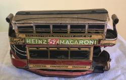very rare oo gauge tin plate and cardboard tram