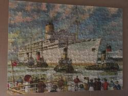 tower press 400p card jigsaw start of the voyage, complete