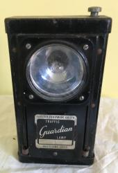 1927 police traffic guardian lamp / torch
