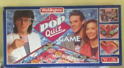 1985 waddingtons mike read's pop quiz board game complete