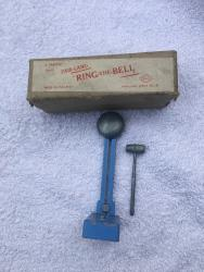 1950s toy fairground ring the bell toy boxed