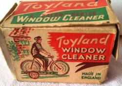 rare diecast salco window cleaner boxed