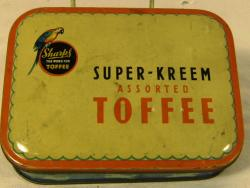 vintage edward sharpes daintee assorted toffee tin
