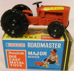 1960's unused lone star farm king tractor 1257 ( boxed)