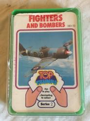 1970s top trumps fighters and bombers series 2 , complete