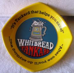 1970s whitbread resin pub ashtray