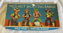 1960s Wild West shooting game , complete