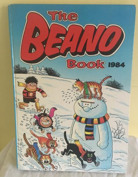beano 1984 annual unclipped