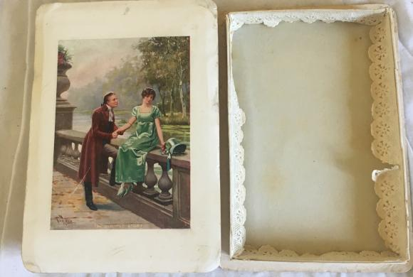 early chocolate box Old Old Story