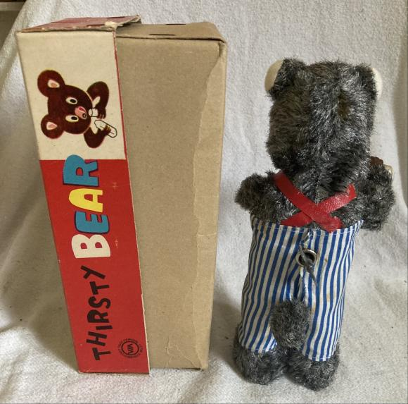 1960s alps Japan c/w thirsty bear boxed
