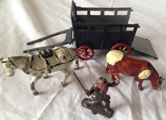 vintage hills lead farm drover set