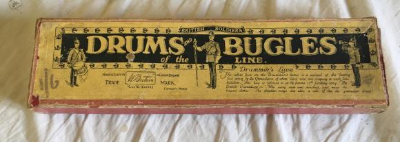 pre ww1 Britains drums and bugles boxed set no 30