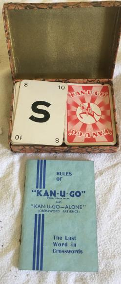 early edition Kan - u -go card game