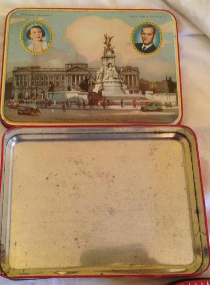 1953 coronation edition lovely's toffee tin