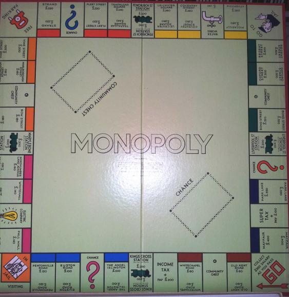 Classic 1960 S Boxed Edition Waddingtons Monopoly Severn