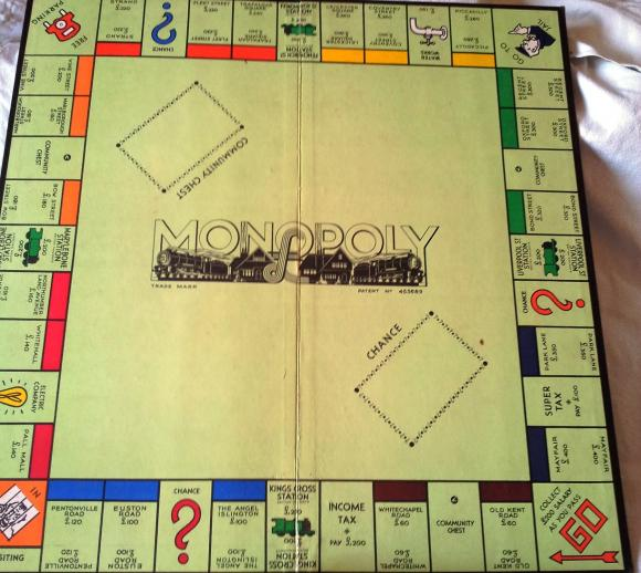 1950s edition monopoly complete
