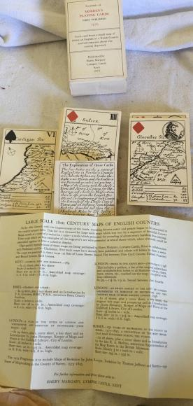 1972 reproduction pack of c 1676 morden playing cards