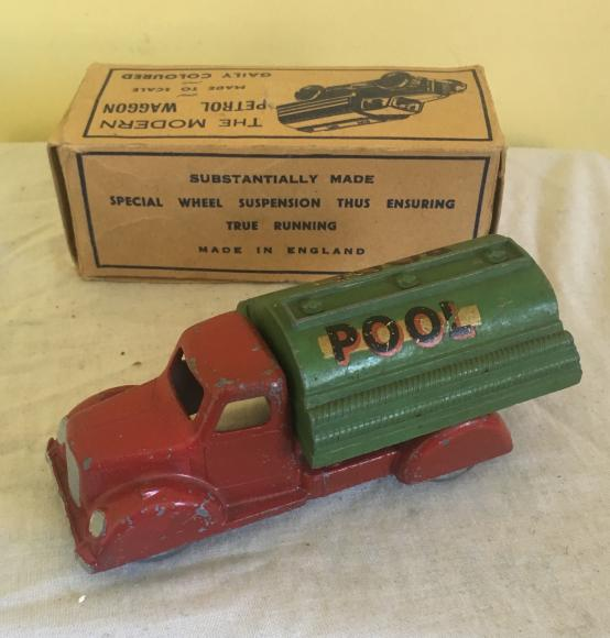 very rare WWII pool petrol waggon  by TP boxed