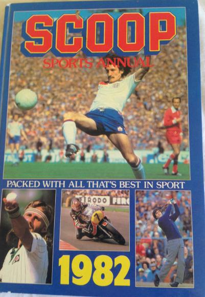 1982 scoop sports annual unclipped
