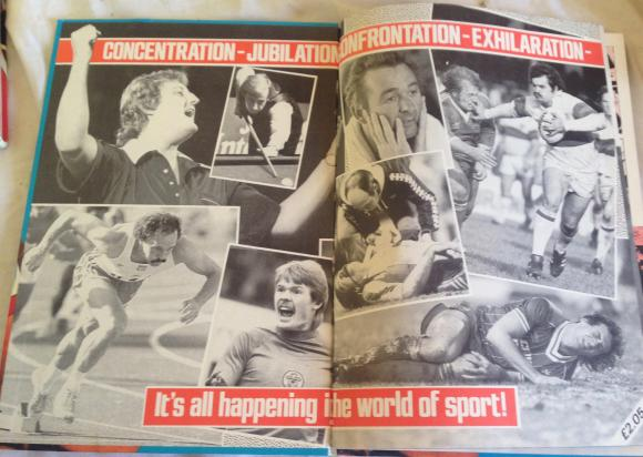 1984 scoop sports annual unclipped