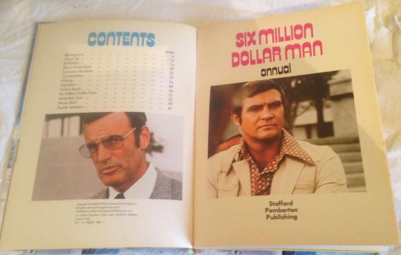 1978 six million dollar man  annual unclipped