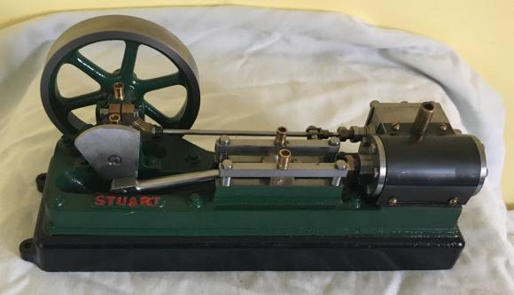 superb stuart live steam engine , nr mint and working