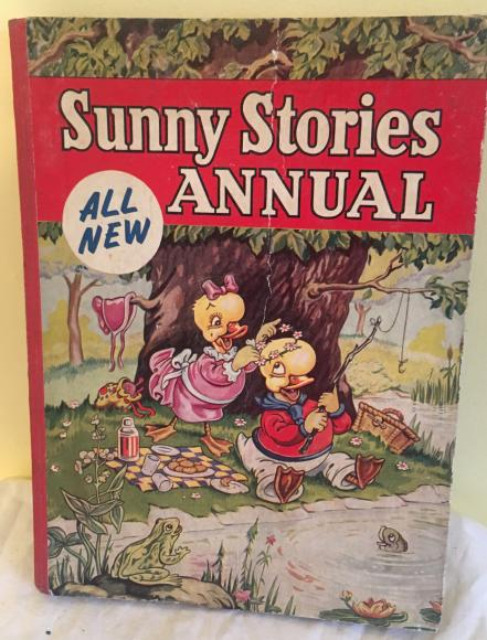 1950s sunny stories annual